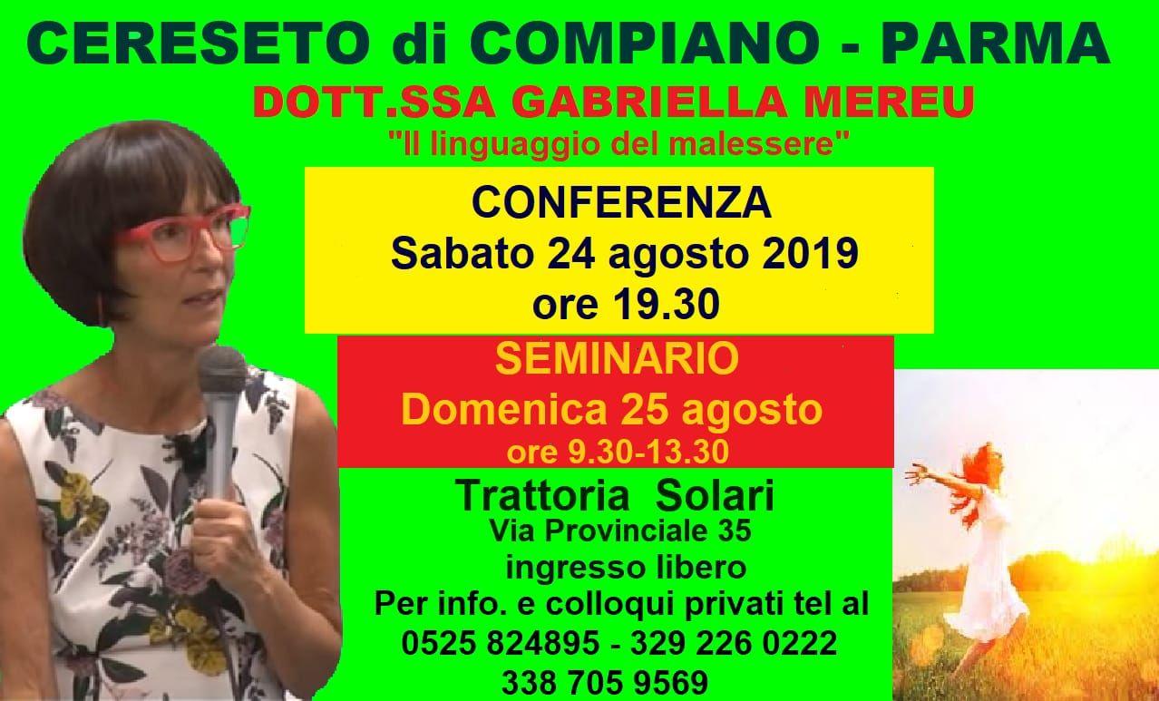 Cereseto di Compiano: conferenza