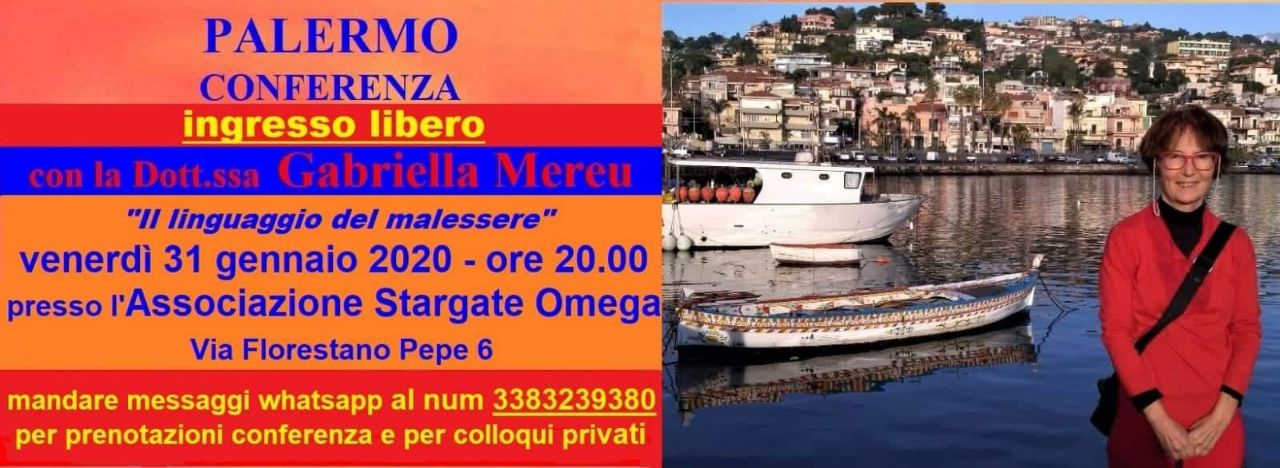 Palermo: conferenza e colloqui