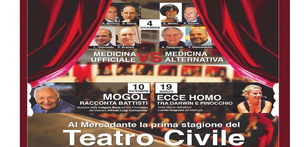 Bari - Agorà: confronto tra Medicina Ufficiale e Medicina Alternativa