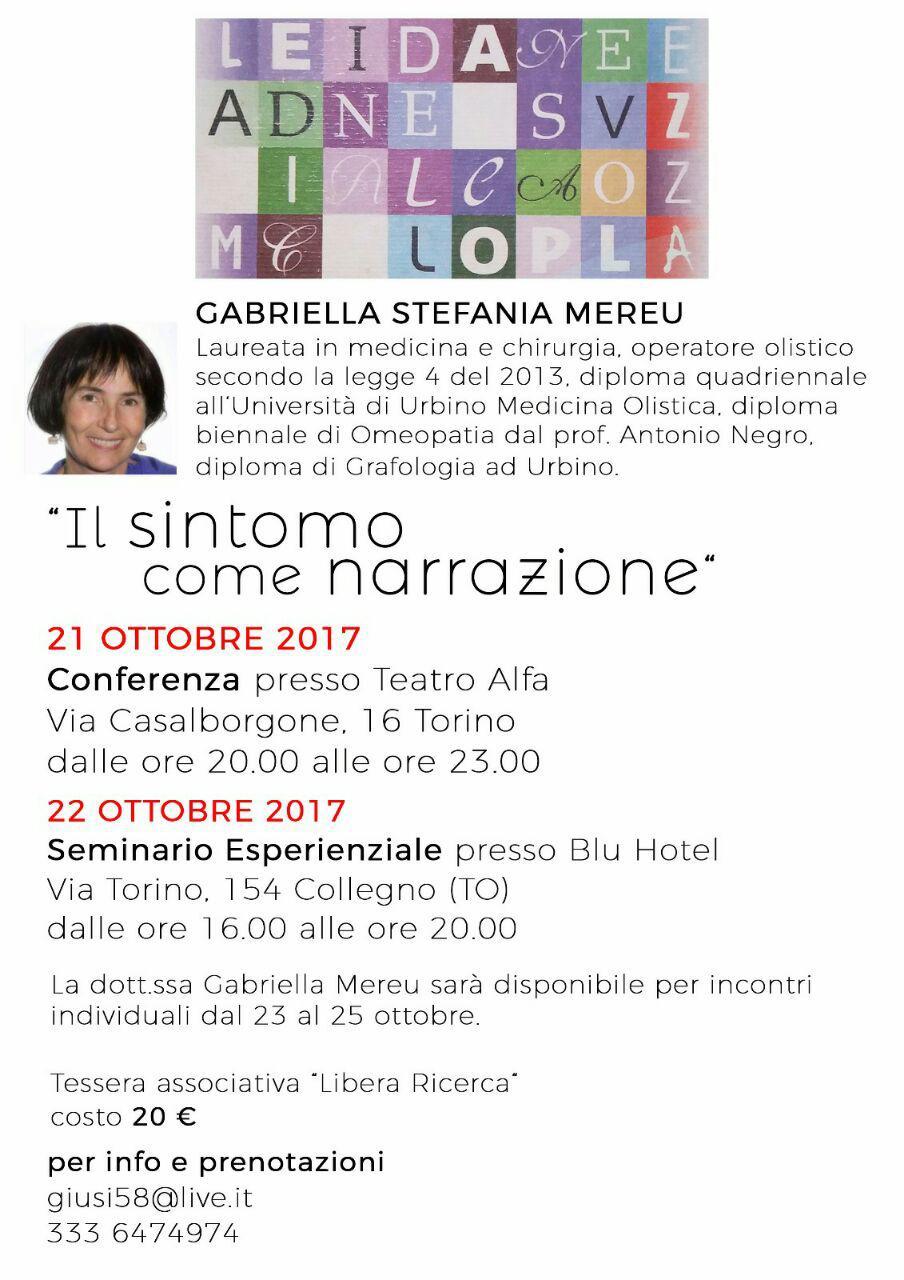 Conferenza a Torino