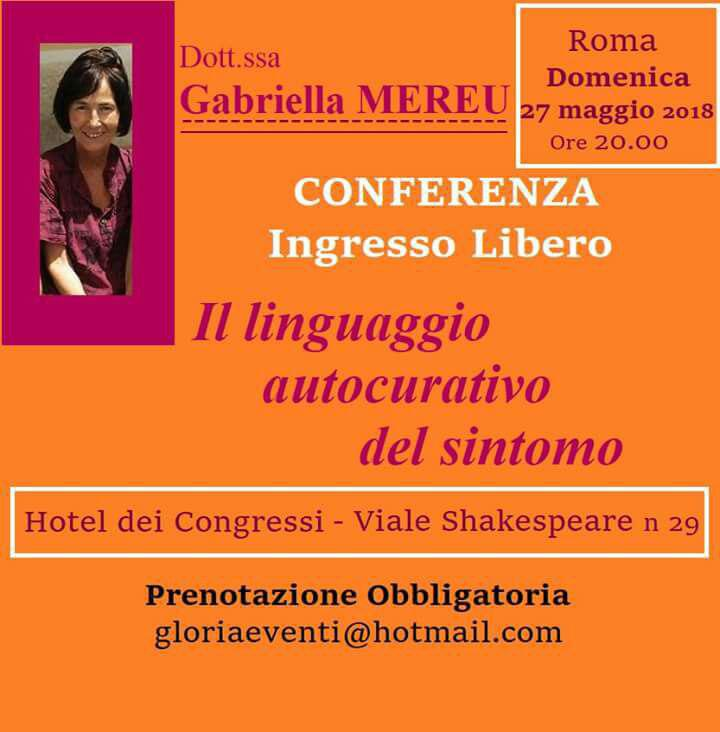 Conferenza e colloqui individuali a Roma