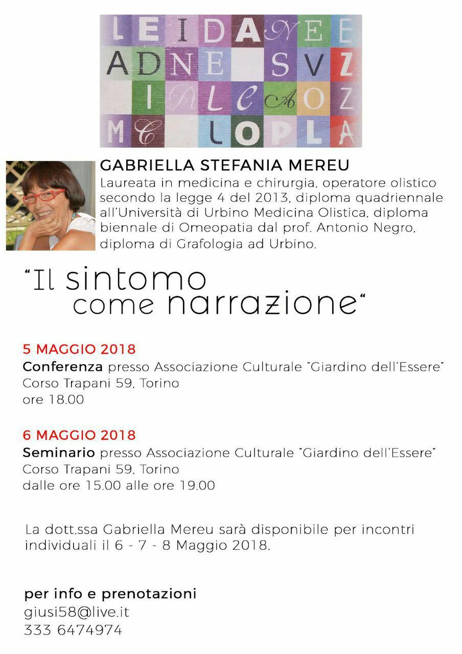Torino: conferenza, seminario e incontri individuali