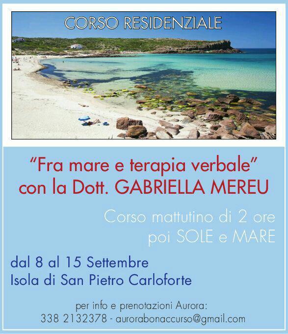 Isola di San Pietro (Sardegna): corso residenziale aperto a tutti