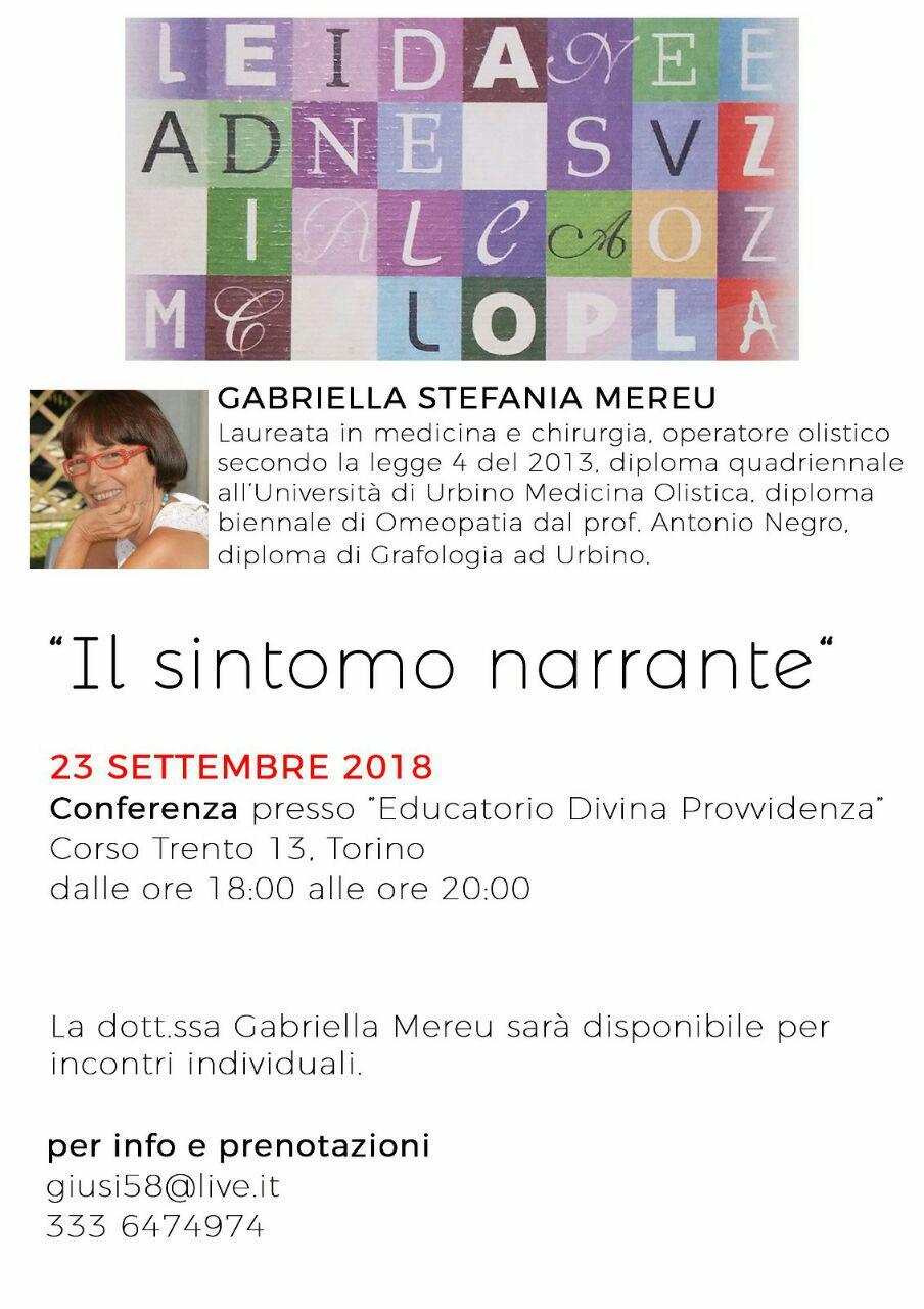 Torino: conferenza
