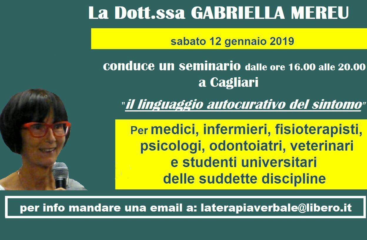 Cagliari: seminario per professionisti e studenti