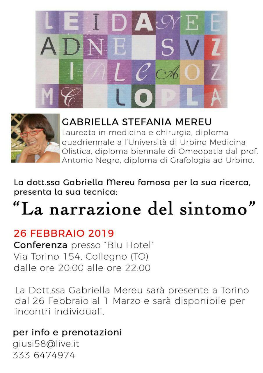 Torino: conferenza e colloqui