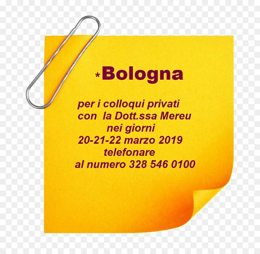Bologna: colloqui