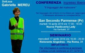 Collegno (TO): conferenza e colloqui