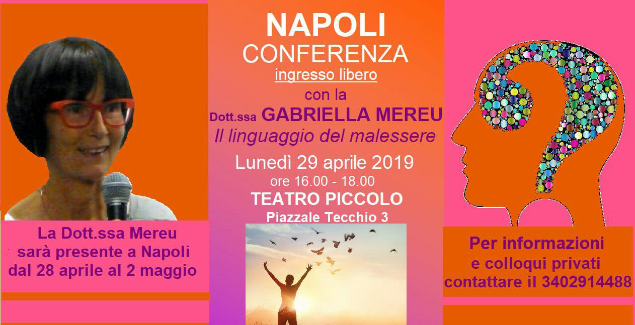 Napoli: conferenza e colloqui
