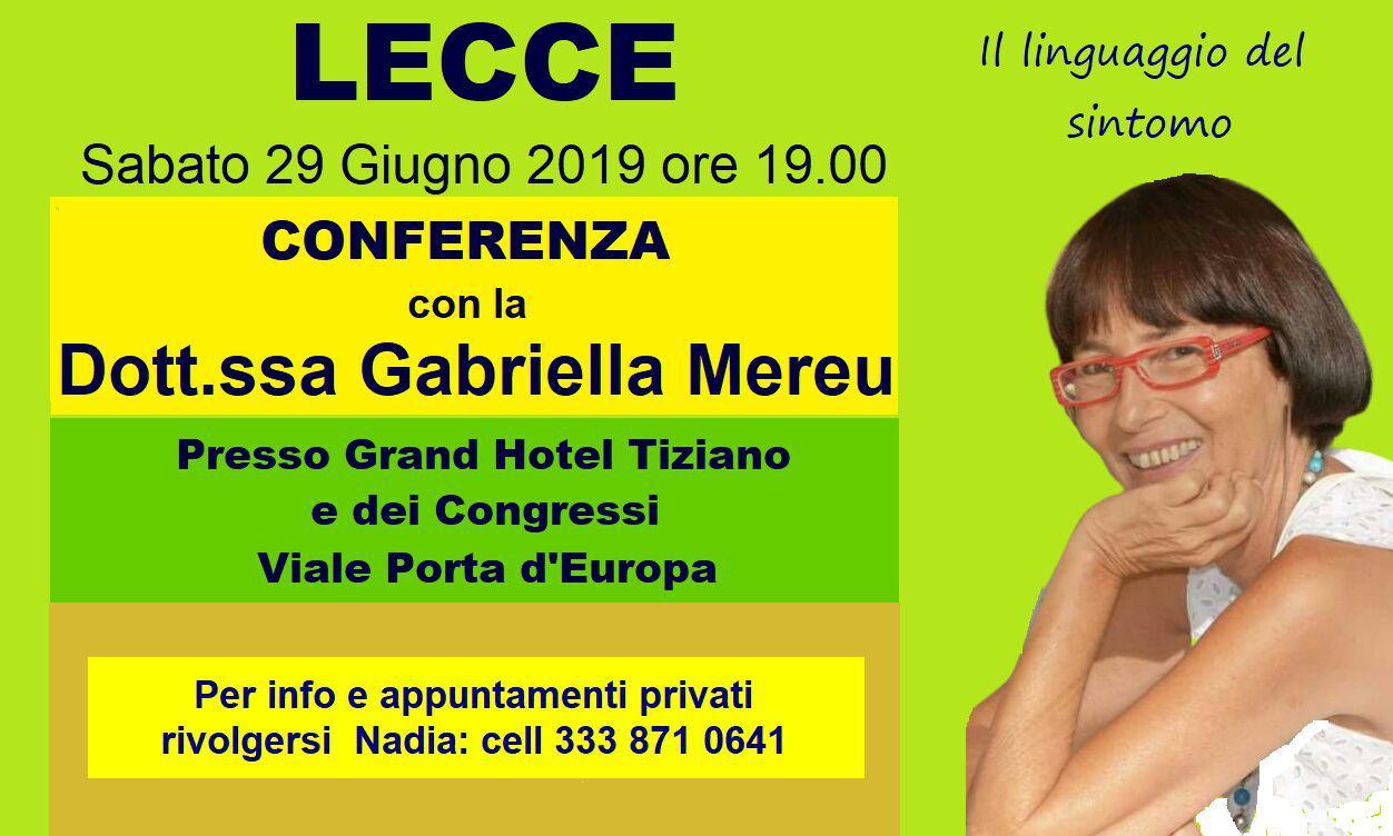 Lecce: conferenza