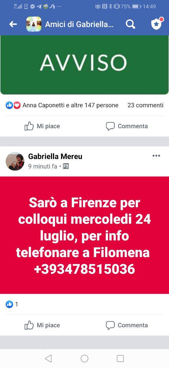 Firenze: colloqui