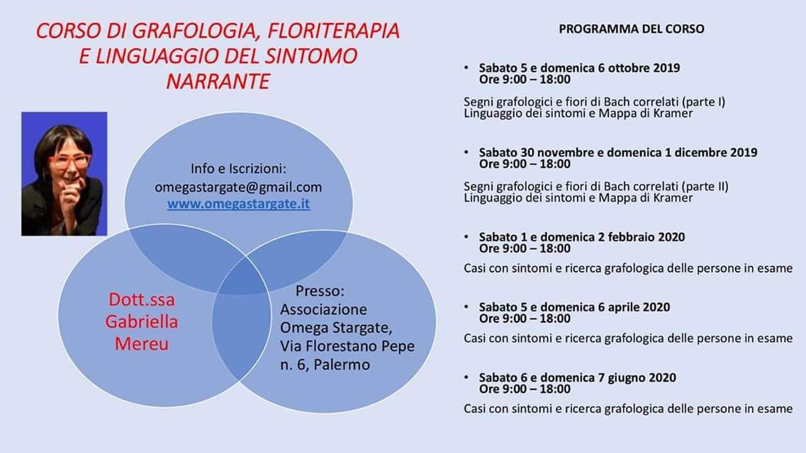 Seminario del 30 novembre e 1 Dicembre a Palermo