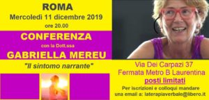 Catania: conferenza e colloqui