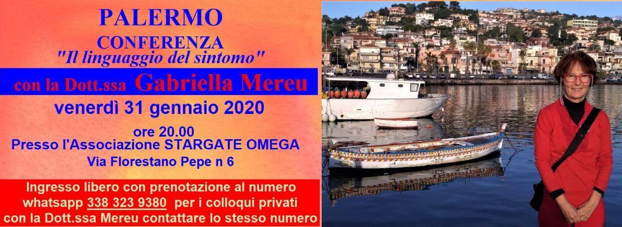 Palermo: conferenza e colloqui