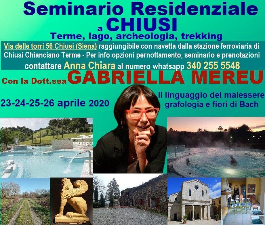 Chiusi: seminario residenziale