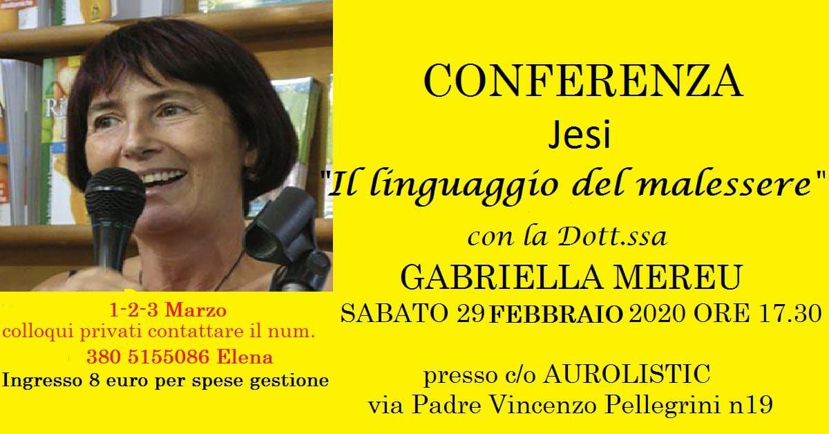 Jesi: conferenza e colloqui