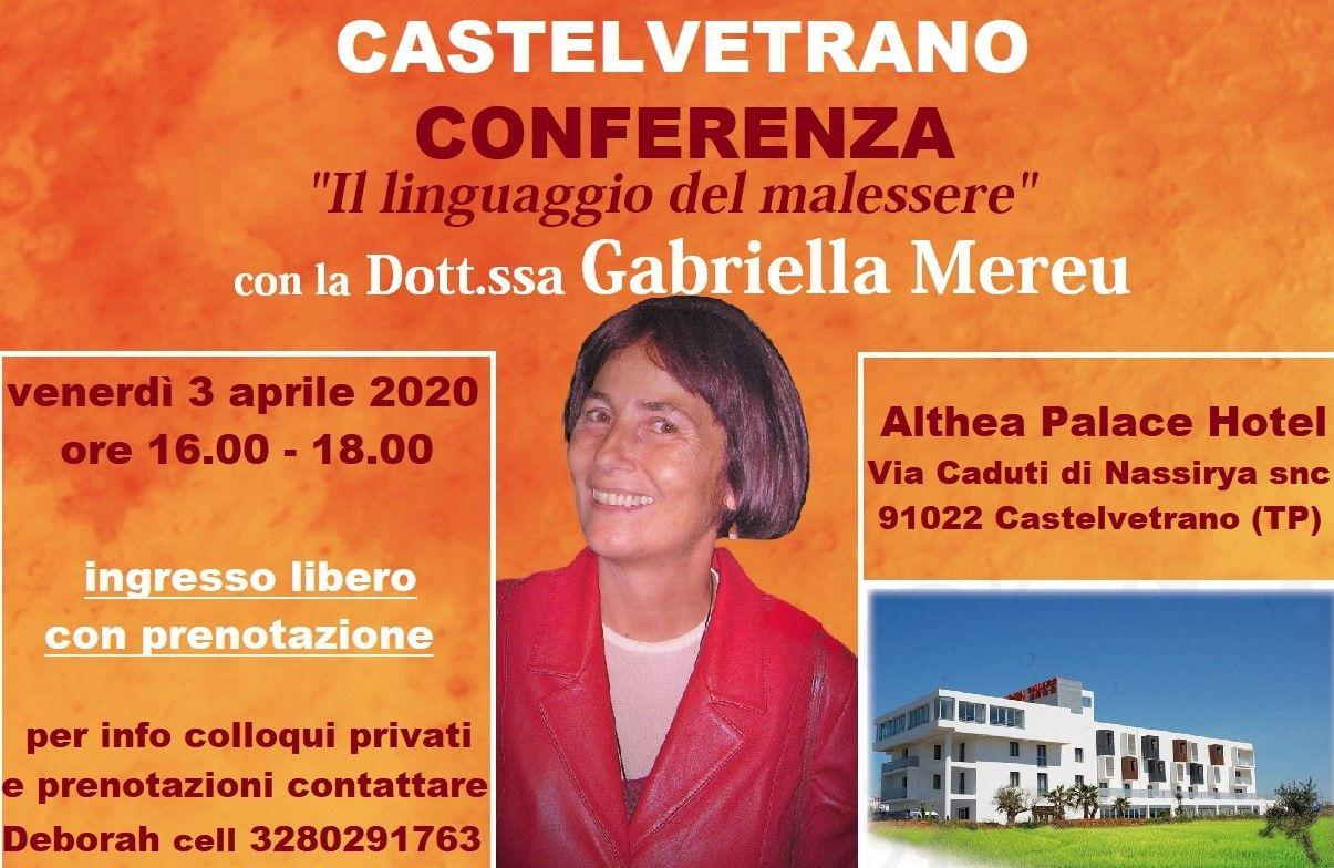 Castelvetrano: conferenza e colloqui